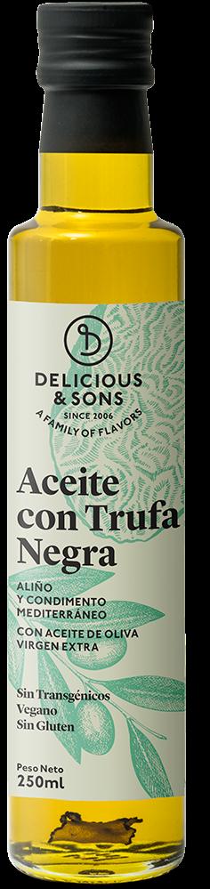 Aceite de Oliva Virgen Extra con Trufa Negra — Delicious & Sons