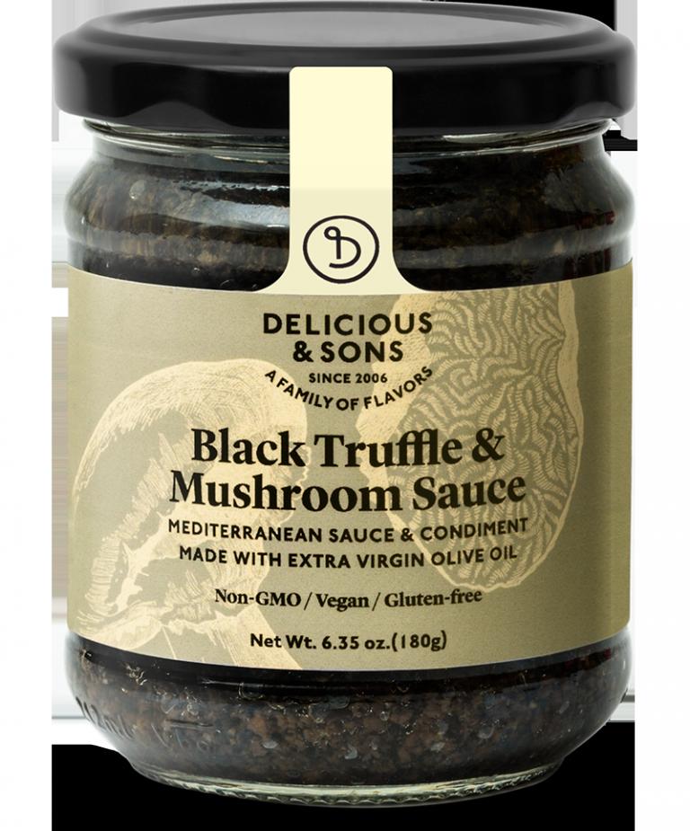 Salsa de trufa negra con champiñones — Delicious & Sons