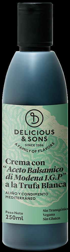 Crema de Balsámico de Módena con Trufa Blanca — Delicious & Sons