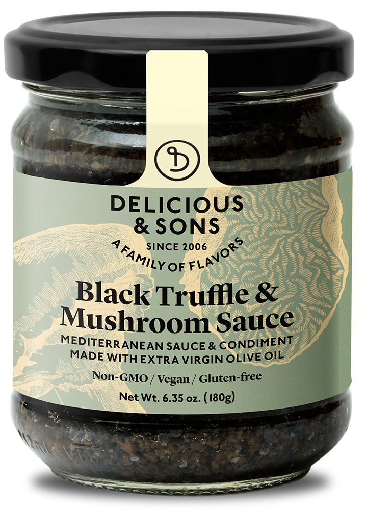 Black Truffle & Mushroom Sauce [OUT OF STOCK IN USA] — Delicious & Sons