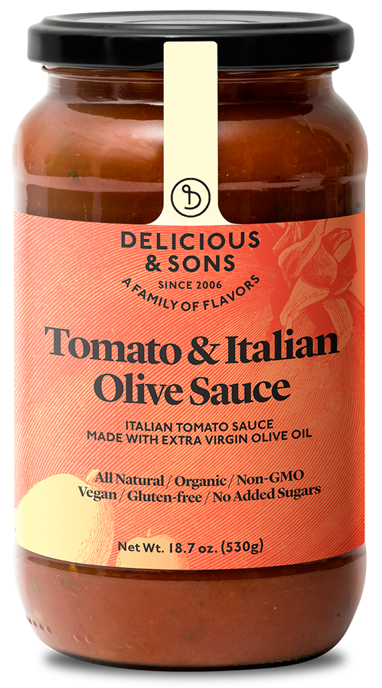 Organic Tomato and Italian Olive Sauce [OUT OF STOCK IN USA] — Delicious & Sons