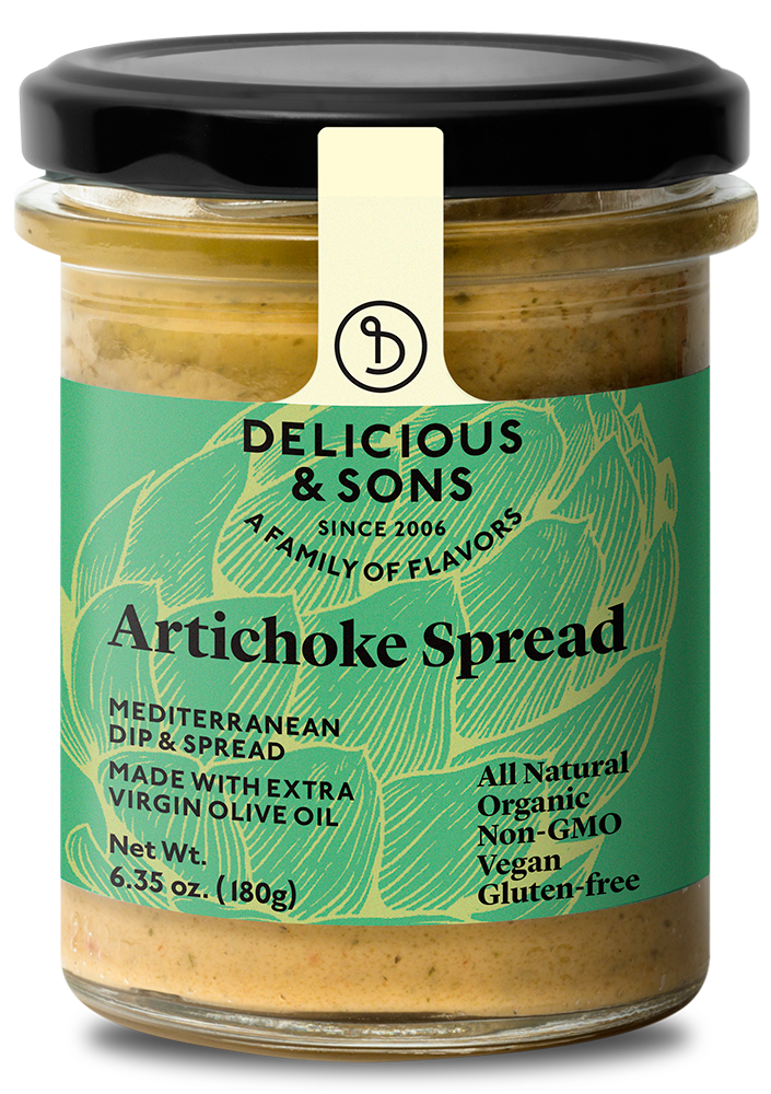 Organic Artichoke Spread [OUT OF STOCK IN U.S.A.] — Delicious & Sons