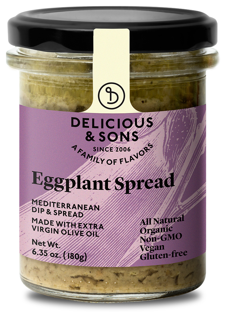 Organic Eggplant Spread — Delicious & Sons
