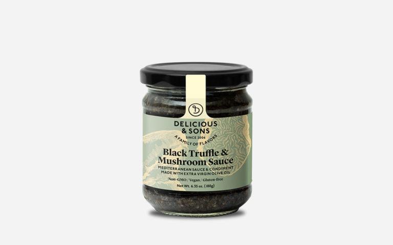 black-truflle-and-mushroom-sauce