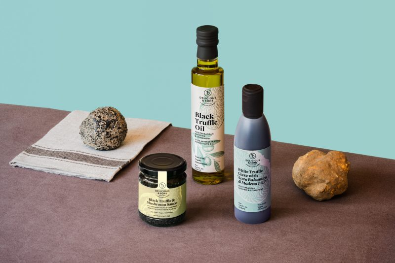 truffle products by delicious & sons