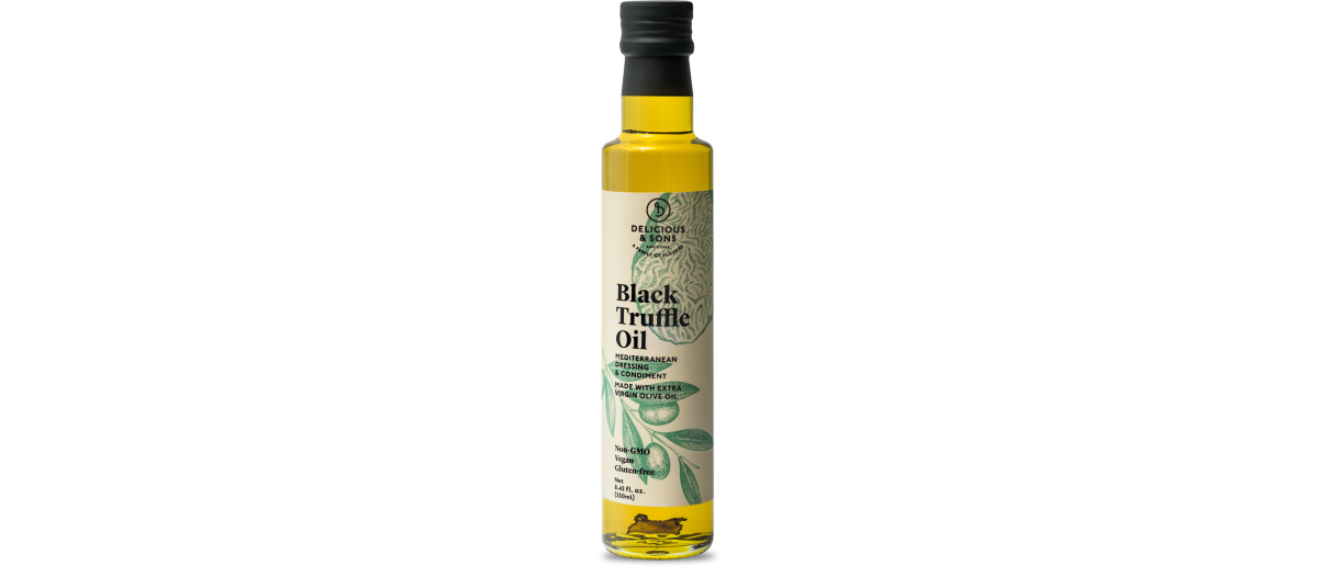 Extra virgin olive oil — Delicious & Sons