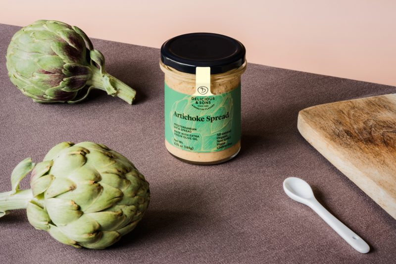 artichoke spread by delicious & sons