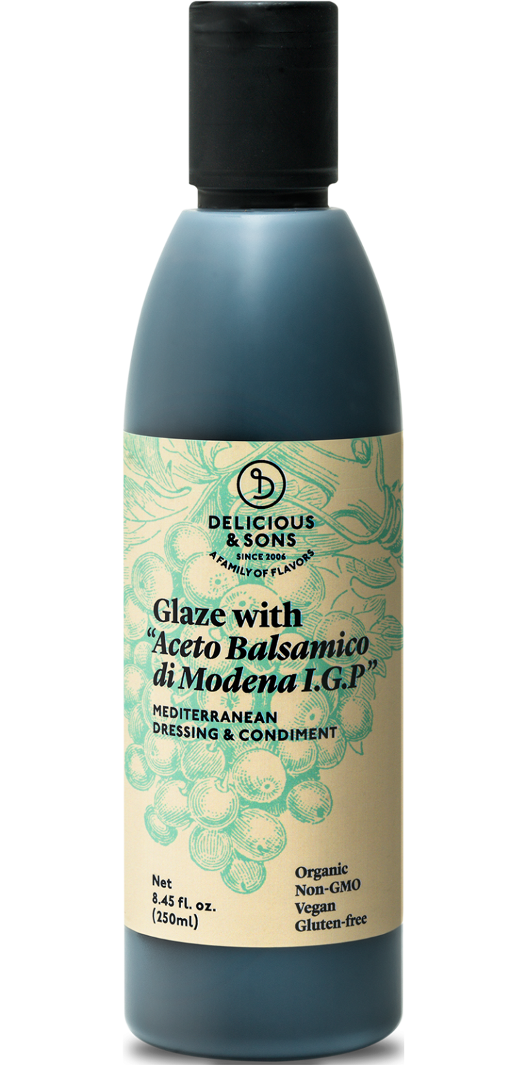 Organic balsamic glaze from Modena — Delicious & Sons