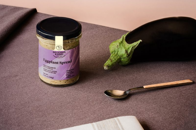 eggplant spread by delicious & sons