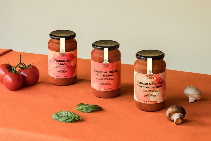 italian tomato sauces by delicious & sons