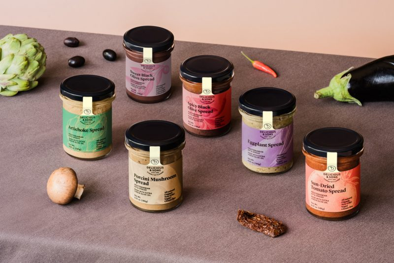 mediterranean dips and spreads by delicious & sons