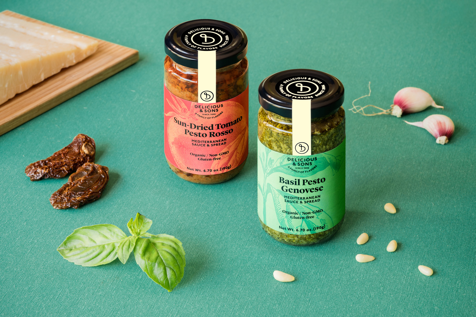Pesto sauces — Delicious & Sons