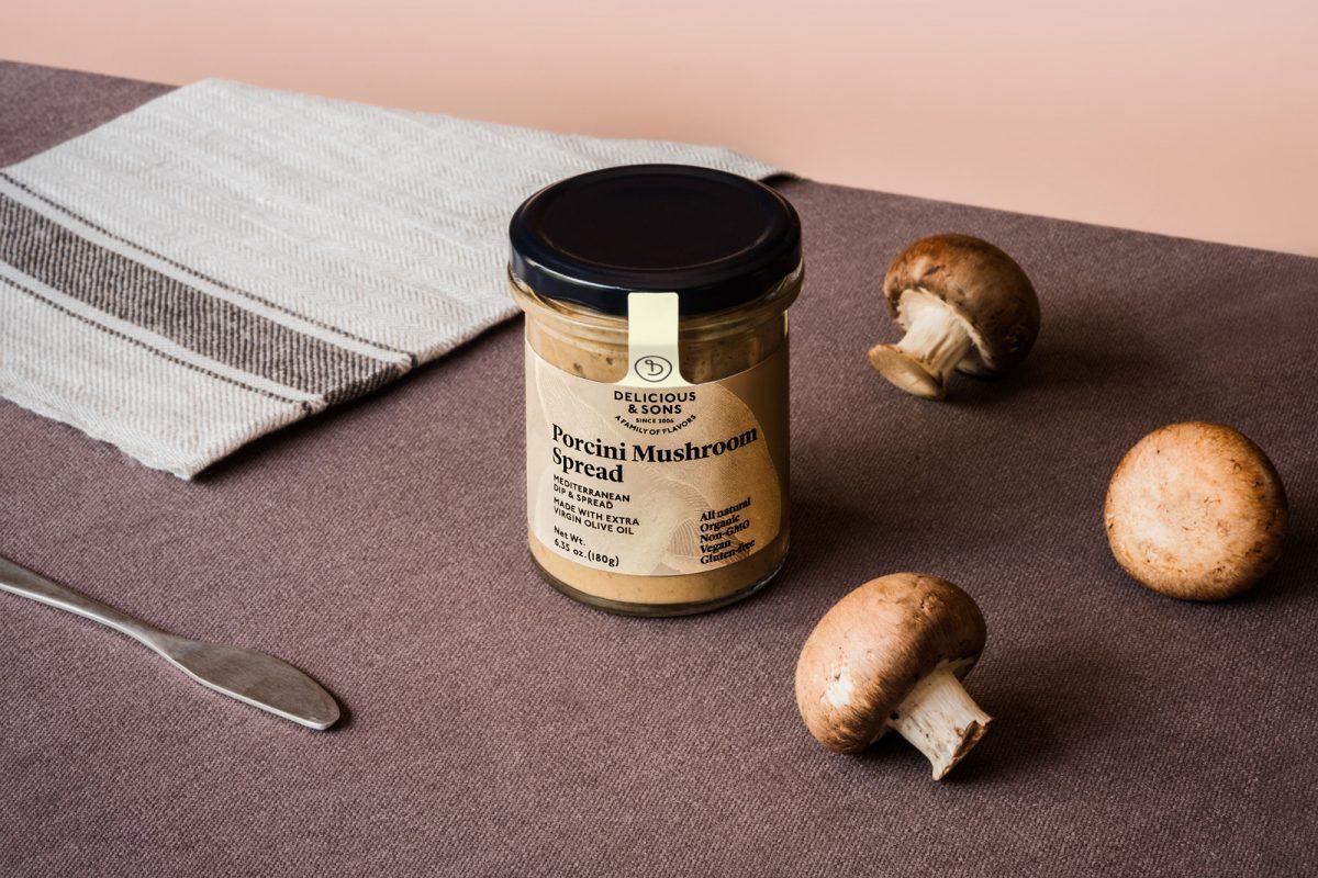 porcini mushroom spread