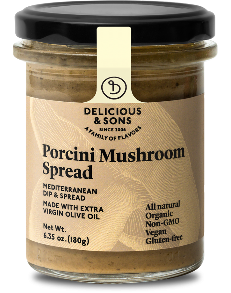 Organic porcini mushroom spread — Delicious & Sons