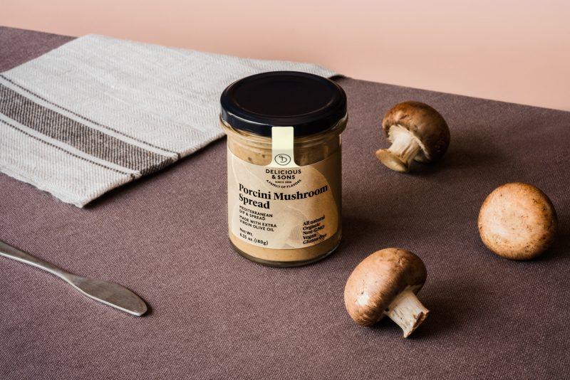 porcini mushroom spread by delicious & sons