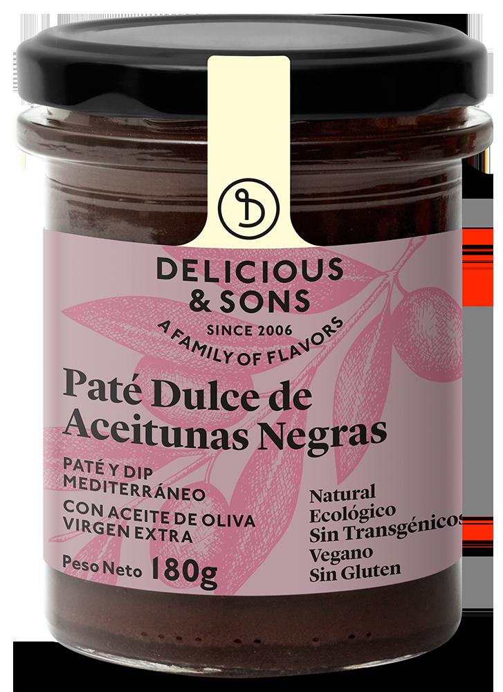 Paté Dulce de Aceitunas Negras ecológico — Delicious & Sons