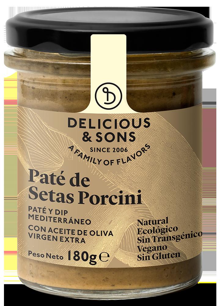 Paté de Setas Porcini ecológico — Delicious & Sons