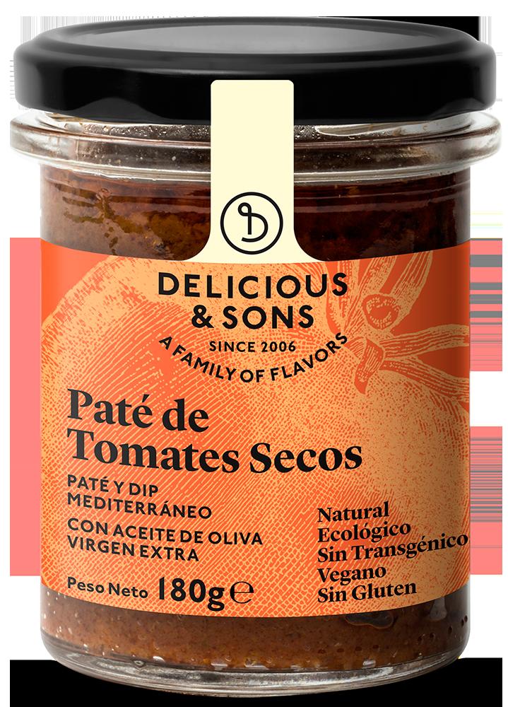 Paté de Tomates Secos ecológico — Delicious & Sons
