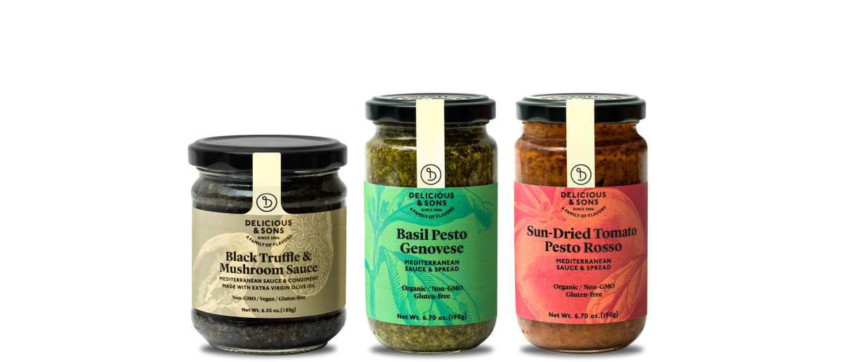 Mediterranean sauces — Delicious & Sons