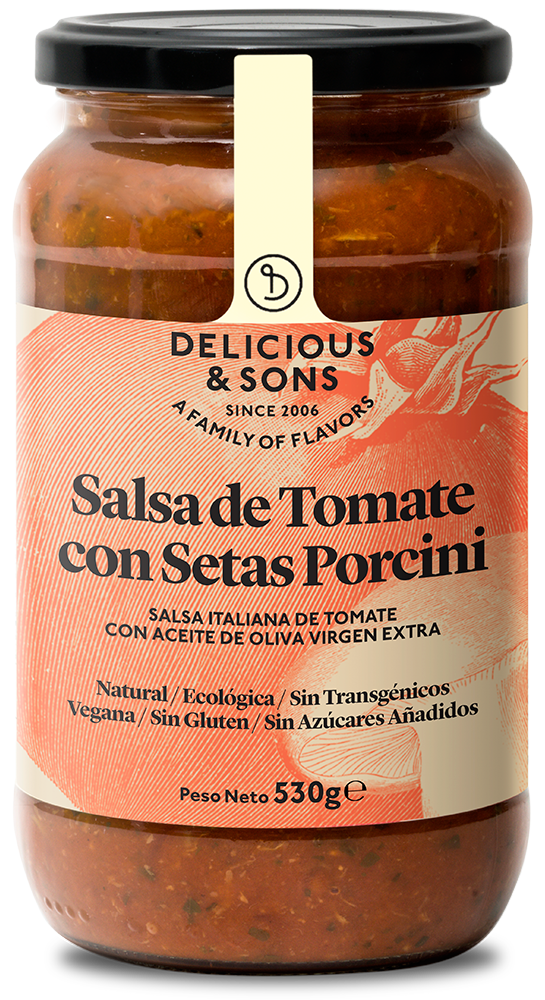 Salsa Puttanesca ecológica — Delicious & Sons