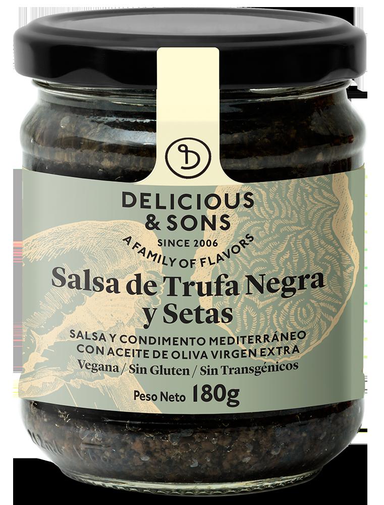 Salsa de Trufa Negra con Setas — Delicious & Sons