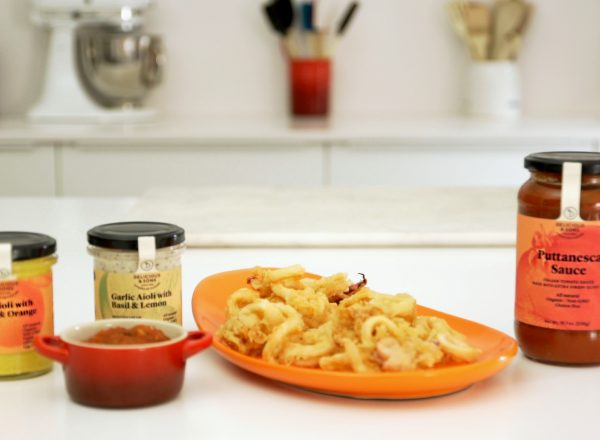 fried calamari recipe image by delicious & sons