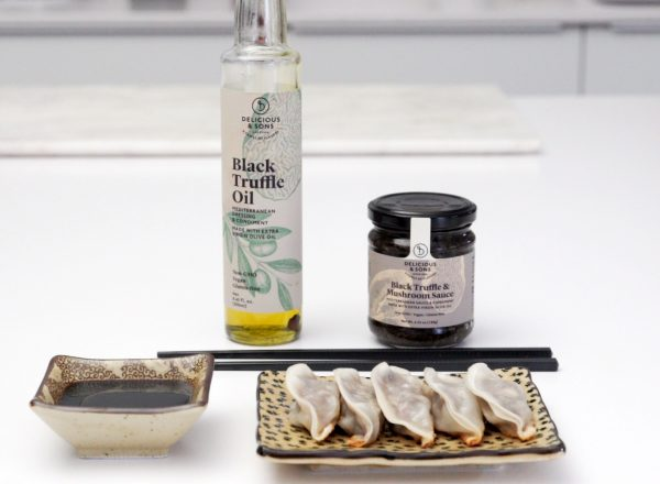 truffle dumplings recipe image by delicious & sons