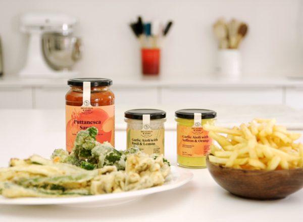 imagen receta tempura de verduras de delicious & sons
