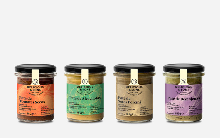 Pack Patés Vegetales — Delicious & Sons