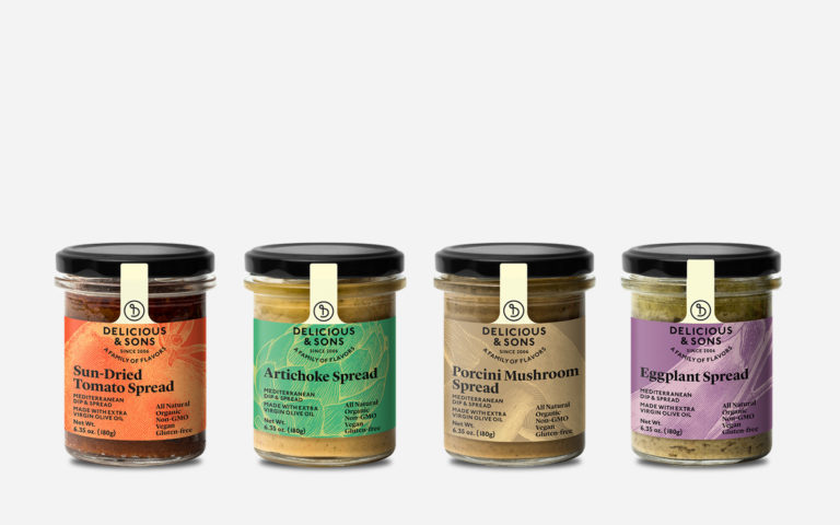Vegetable Dips and Spreads Sampler [OUT OF STOCK IN USA] — Delicious & Sons