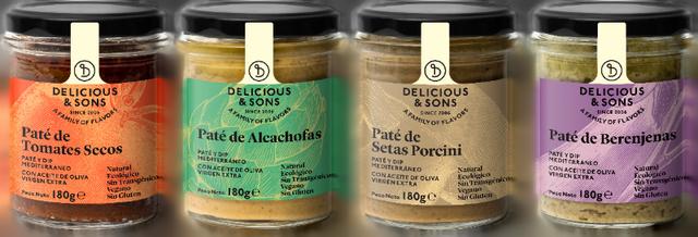 Pack Patés Vegetales — Delicious & Sons