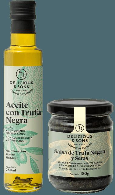 Pack Trufa Italiana (2 uds.) — Delicious & Sons