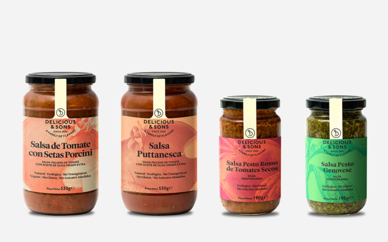 Pack Salsas Italianas — Delicious & Sons