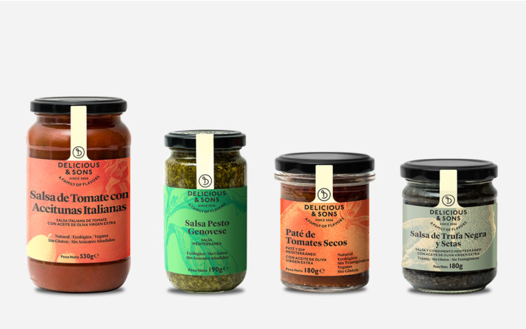 Pack Salsas Mediterráneas — Delicious & Sons
