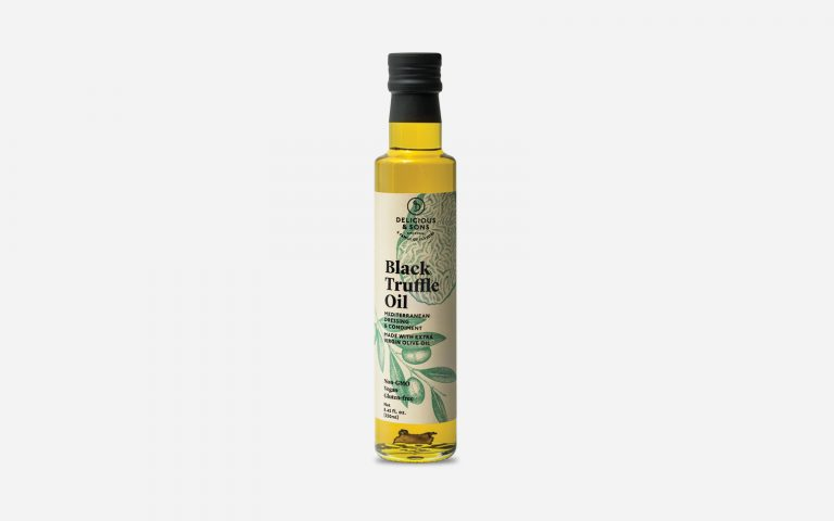 gourmet truffle oil by delicious & sons