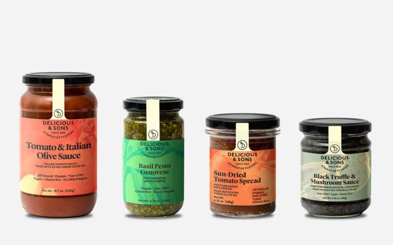 Mediterranean Sauce Sampler — Delicious & Sons