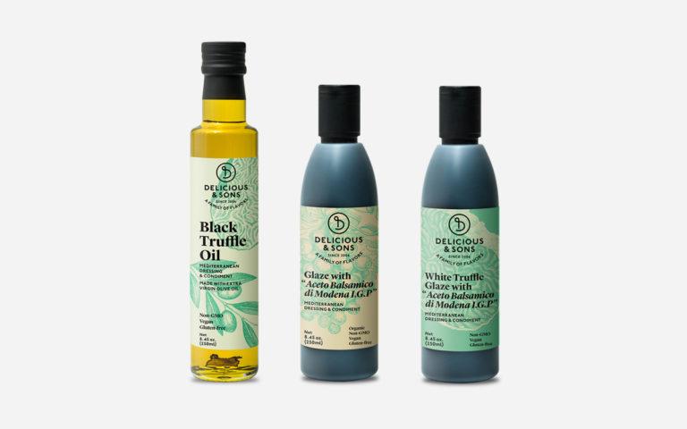 Olive Oil and Vinegars Sampler — Delicious & Sons