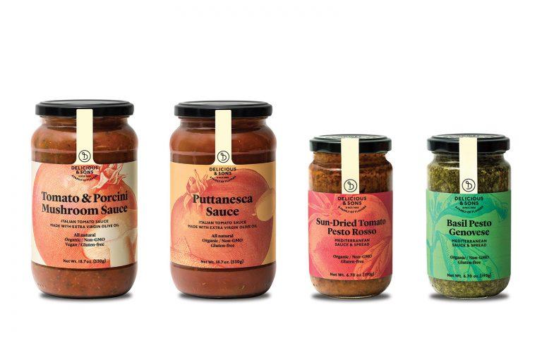 Italian pasta sauce sampler — Delicious & Sons
