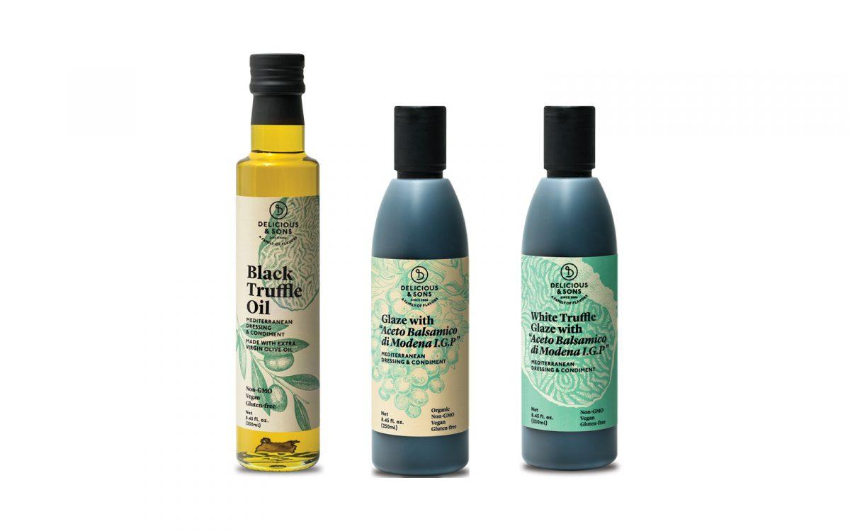 olive oil and vinegars sampler image