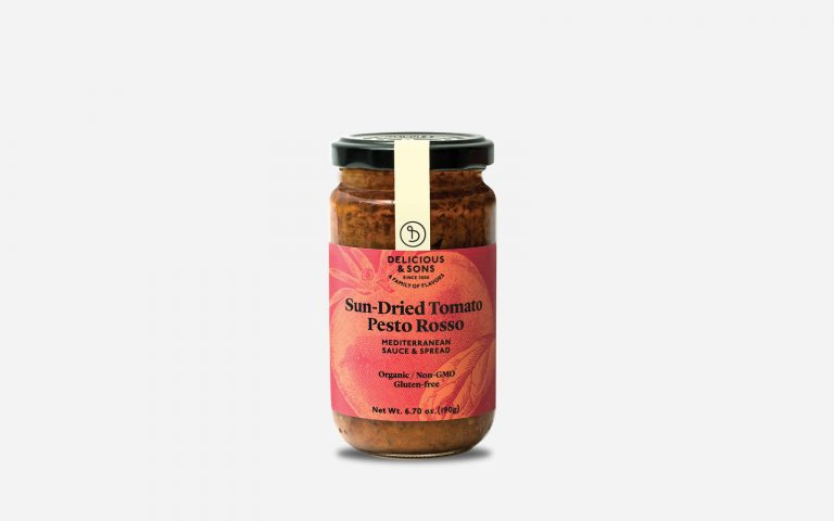 gourmet pesto rosso bu delicious & sons