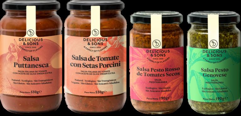 Pack Salsas Italianas (4 uds.) — Delicious & Sons
