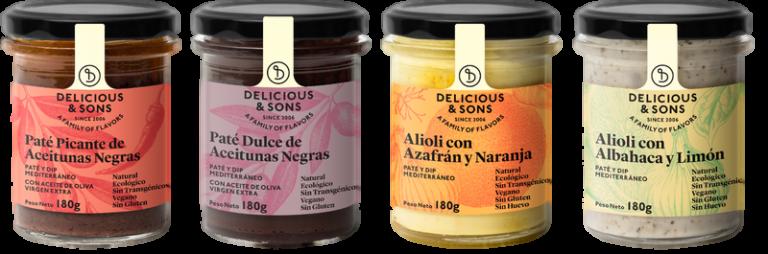 Pack Condimentos Mediterráneos — Delicious & Sons