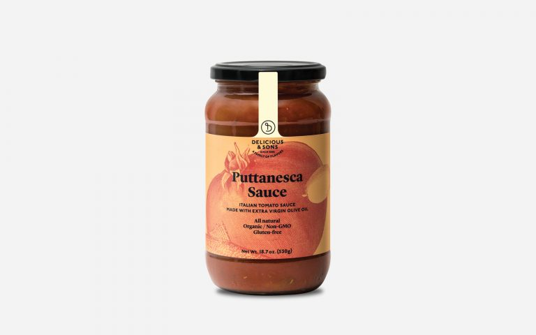 gourmet puttanesca sauce by Delicious & Sons