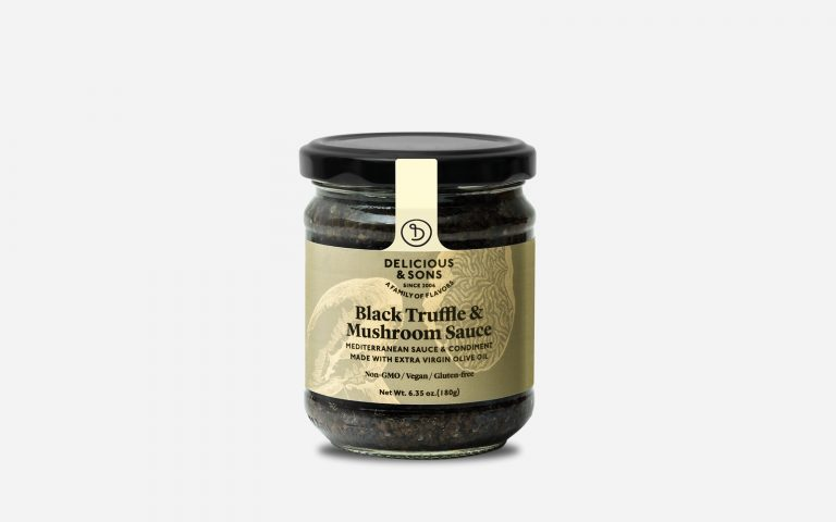 gourmet truffle sauce by Delicious & Sons