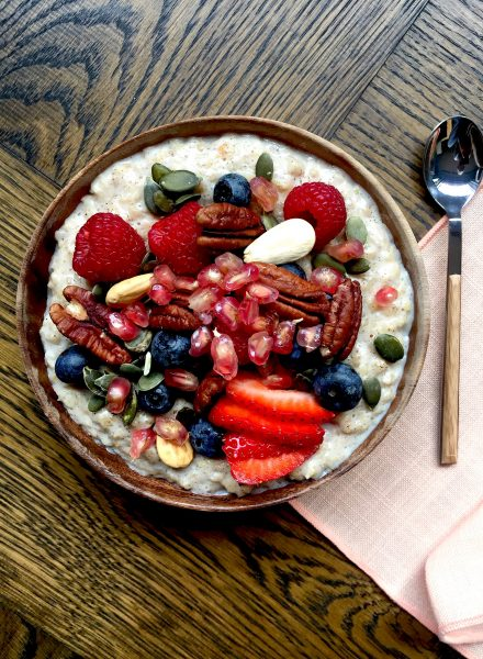 Healthy porridge by Delicious & Sons