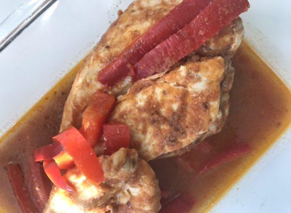 Pollo-Asado-Pesto-Rosso