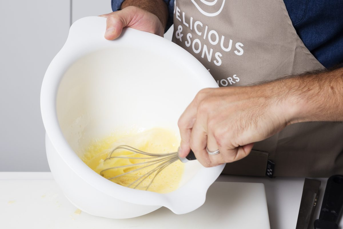 Tortilla de Patatas en Gofrera por Sergi Ferrer — Delicious & Sons