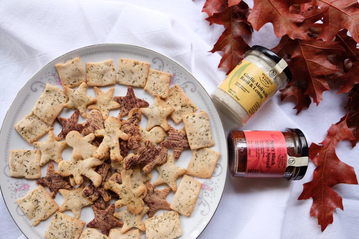 Galletas Saladas de Navidad Sin Gluten — Delicious & Sons