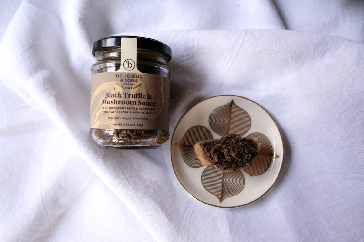 Black Truffle Canapé Gluten-Free — Delicious & Sons