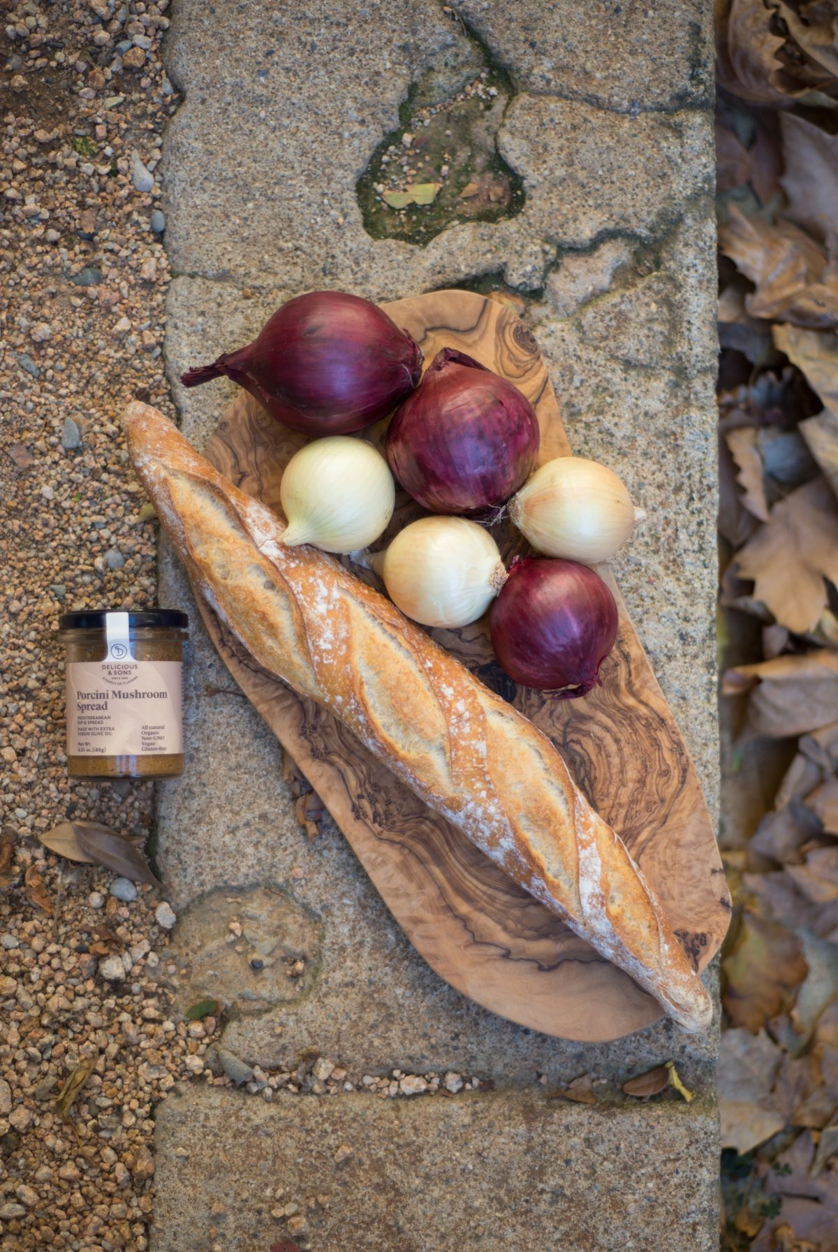 Porcini Mushroom & Onion Crostini by Erin Gleeson – The Forest Feast — Delicious & Sons